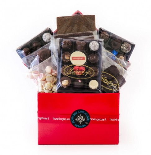 CORPORATE GIFTS, CHOCOLATE HAMPERS