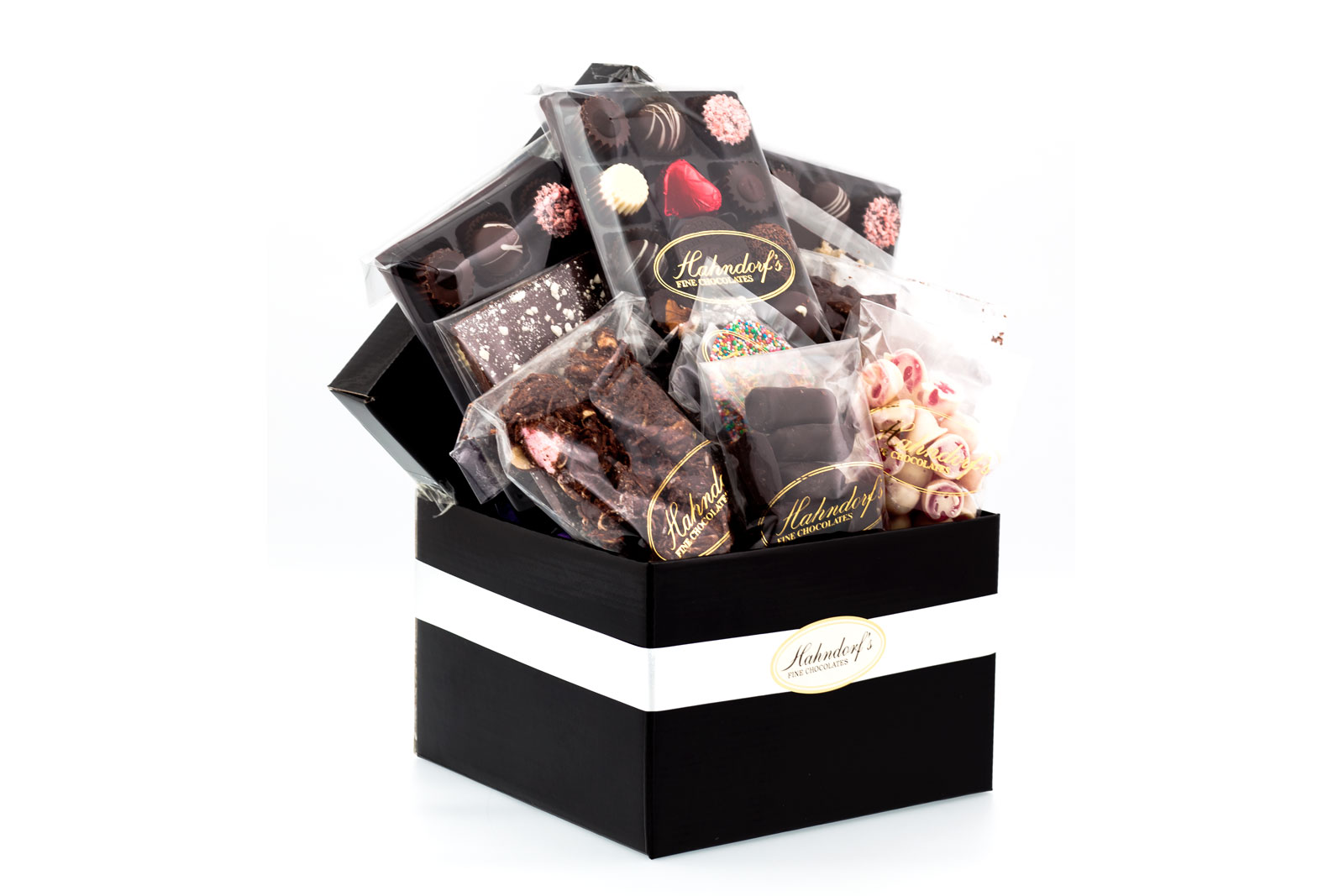 Chocolates gift hampers baskets melbourne 5050 delight wicked chocolate hamper negle Image collections