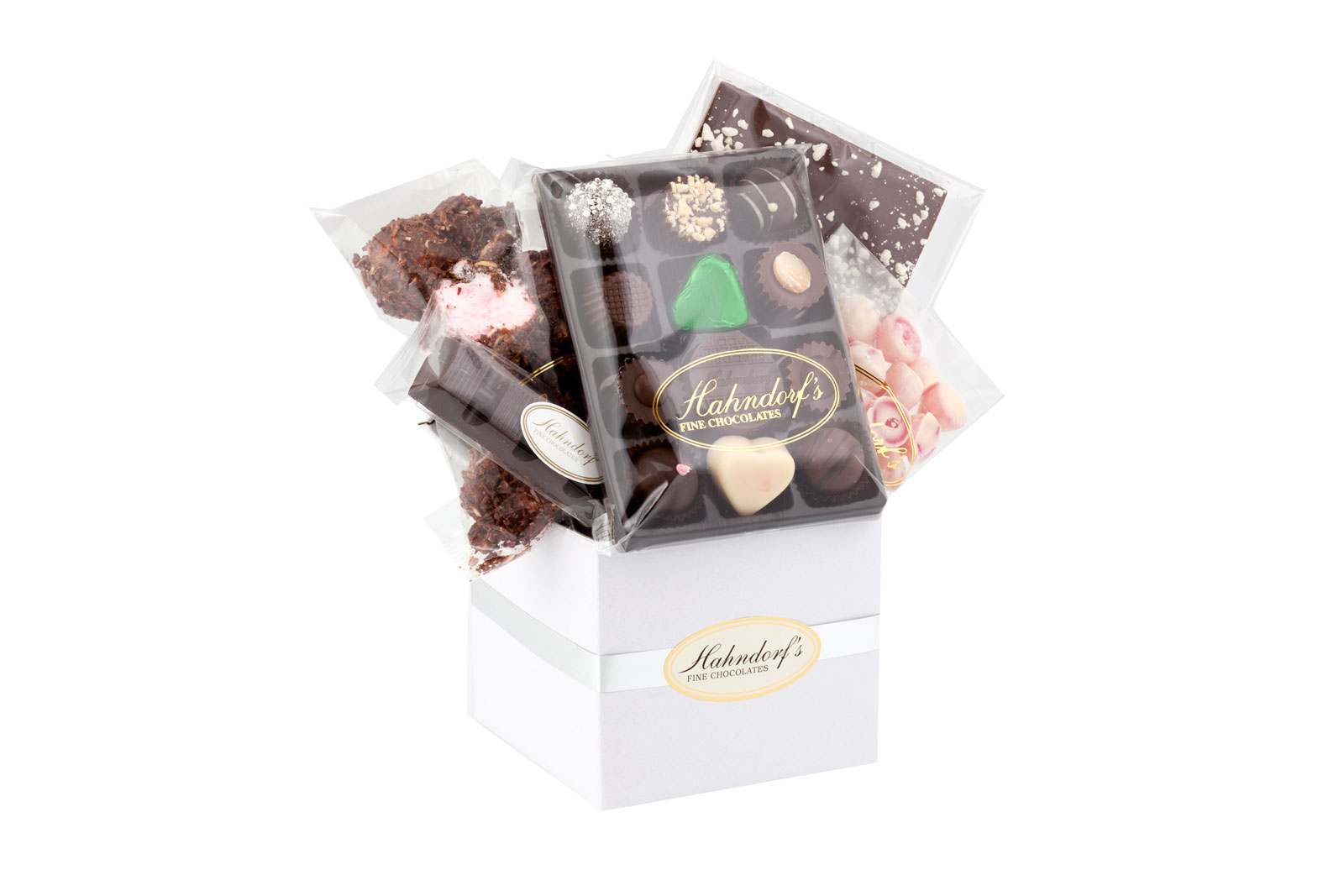 Chocolates gift hampers baskets melbourne deluxe entice chocolate hamper negle